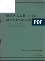 149054781 Chesterton Arthur Kenneth Menace of the Money Power