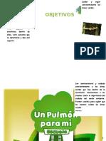 Afiche Areas Verdes