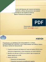 Contacto Presentación GSOAC