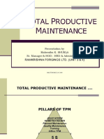 Presentation on Total Productive Maintenance by Centenvir