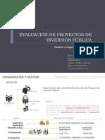 Gestion y Plan de Implementacion - Proyectos de Iversion