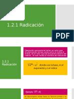1.2.2 Radicación