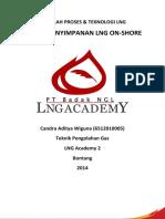 Tangki Penyimpanan LNG On-Shore - Candra Aditya Wiguna