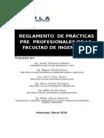 Reglamento de Ppp Modificado 2016 Para Los Alumnos