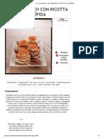 La Cucina Italiana - Mini Sandwich Con Ricotta Tiepida