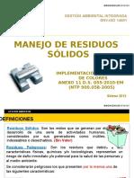Manejo de Residuos Selene 2012
