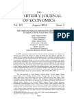 August 2012 Quarterly Journal of Economics