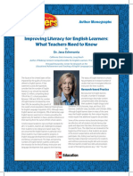 Improving Literacy for English Learners