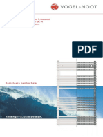 Calorifere Baie Vogel Della - Pliant Date Tehnice
