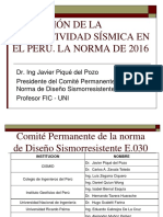 4. Dr. Javier Pique Del Pozo Modificación de La Norma E-030