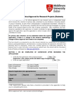 Research Ethics Approval Form