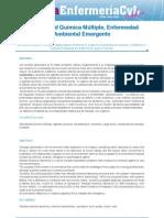 SENSIBILIDAD QUIMICA MULTIPLE, ENFERMEDAD AMBIENTAL EMERGENTE