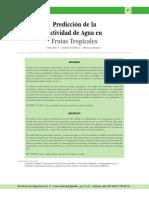 prediccion de Aw en frutas tropicales.pdf
