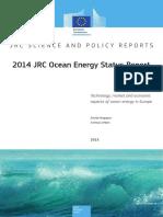 2014 JRC Ocean Energy Status Report