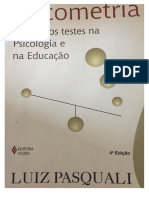psicometria - teoria dos testes na psicologia e na educação