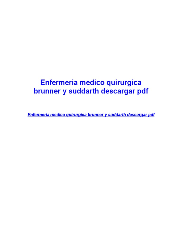 Enfermeria medico quirurgica brunner y suddarth descargar pdf enfermeria medico quirurgica brunner y suddarth descargar pdf mobile computers personal computing fandeluxe Image collections