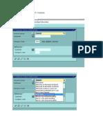 Creating Customers for FI Module
