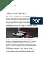 Arduino(Funcionamiento)