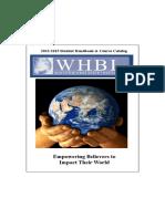 WHBI-catalog-2013-2015