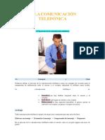 La Comunicacion Telefonica