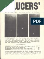 SAUCERS - Vol. 7, No. 3 & 4 - Fall/Winter 1959/60