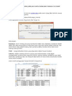14. Menampilkan Jumlah Data Dengan Fungsi Dcount