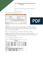 15. Dmin_fungsi Database Untuk Menentukan Nilai Terendah