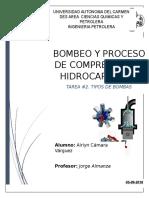 Bombas Bombeo y Copresores