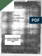 National Intelligence Estimate 11-1-73