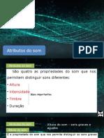 Som e Luz - 03 - Atributos Do Som
