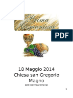Prima Comunione 18.05.2014