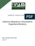 Avaliação Hidraulica e Pneumatica