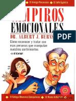 Vampiro Emocionales_Dr. Albert J. Bernst - Albert Bernstein
