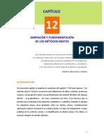 12. Ampliación y Fundamentación de Los Métodos Mixtos