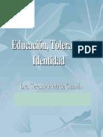 Educación Tolerancia e Identidad