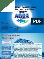 PPT manajemen rantai pasok aqua