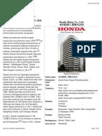 Honda - Wikipedia, The Free Encyclopedia