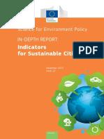 Indicators for Sustainable Cities IR12 En