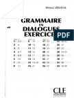 grammaire en dialogue debutant  Complet