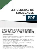 2.2 Ley General de Sociedades