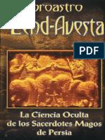 Zend Avesta_ La Ciencia Oculta - Zoroastro