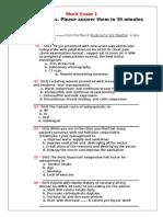 Mock Exam 1- 25 MCQs.doc