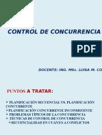 Control de Concurrencia Ultima Versión