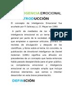 Manual de Inteligencia Emocional y Manejo Del Estres