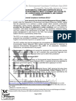ECC - Environmental Compliance Certificate Primer for the Philippines