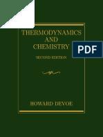 Termodinámica y Química