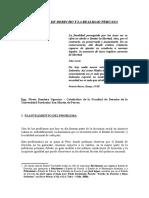 El Estado de 20derecho La Realidad Peruana (1)