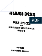 Berg, A. - Vier Stücke Op. 5 (clarinet and piano).pdf