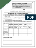 Internship Sum. 16- Final Eval. Form