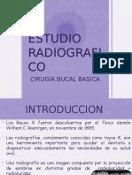 Estudio radiografico